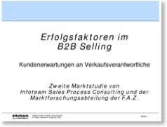 die Erfolgsfaktoren im b2b Selling