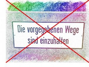 Die vorgegebenen Wege sind einzuhalten? Mit uns nicht! Vertriebswerkstatt Bad Nenndorf - da gibt es Vertriebs-Know-how pur!
