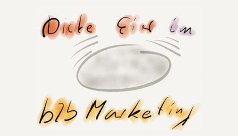 Dicke Eier - Zitat von Henry Ford zu Marketing und Vertrieb
