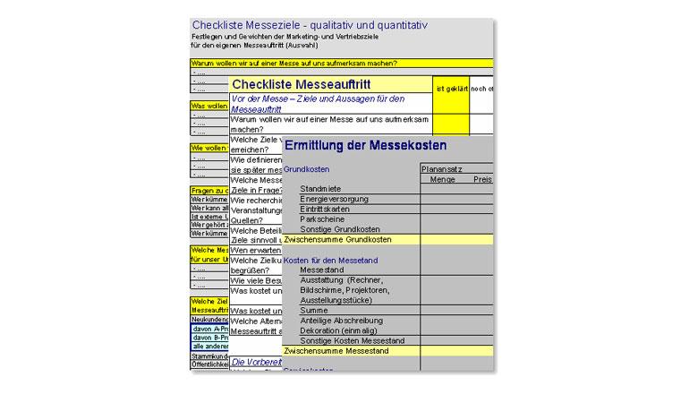 Messecontrolling mit Excel für Ihren Messeerfolg